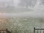 Hail in Bardstown