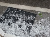 Hail in Cahaba Heights