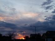 SUNSET IN SOUTHWEST OMAHA