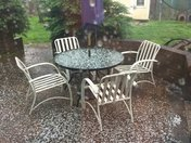hail in Mount Airy