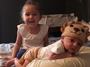 Elias the Lion and his sister Selah