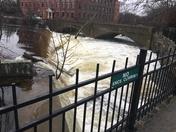 Concord River at the Faulkner Mills in North Billerica