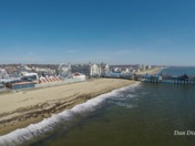 Warm breezy day at Old Orchard Beach