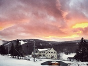 Killington sunset
