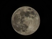 Full moon over cana tonight