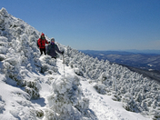 Amazing view on top of Camel's Hump on Sunday