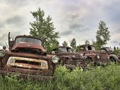 Old Delivery Truks