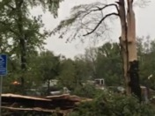 Thunder storm in Chico Ca