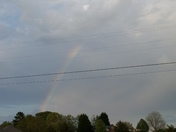 rainbow over pickens