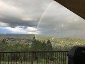 Rainbow over Penn Valley