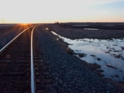 CN trail in Sunset