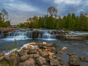 Sauble Falls by Sylvain Champagne