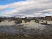 Androscoggin River @ the falls in Auburn