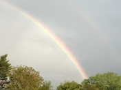Friday evening Rainbow over Greenville