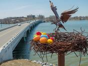 """""""Osprey Landing"""" Easter Eggs"""