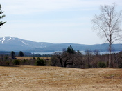 Sunapee lake and Mt. Sunapee from burpee hill road New London