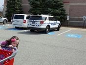 Monroeville Police Officer Parked in Handicap Spot