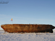 The Queen Maud vessel in Cambridge Bay