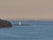 McNabs Island Lighthouse & Ship