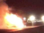 Easter Night Accident With Fire
