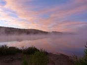 Sunrise At The Lake.