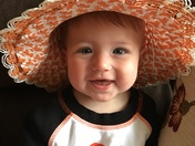 Cutest O's fan!