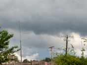 Rain cloud going east of Canton ms