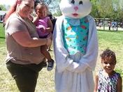 Scared of the Easter bunny