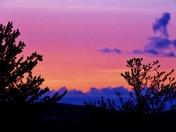 sunset clouds, 4-17-2017