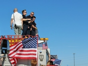 Escort for Officer David Wade