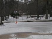 The ice we had