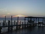 Sunset on Lake Pontchartrin