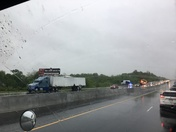 Semi Collision on I49 SB