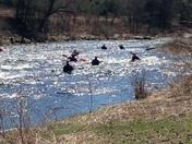 Kayaking the Ammonoosuc in Lisbon NH on Sunday