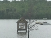Flooding at Lake Hampton