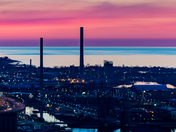 Toronto Portlands at dawn