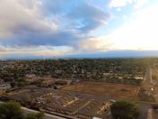 CHECKING OUT THE STORMS WITH MY DRONE @ 206 FEET