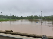 Underwater  BB & T soccer fields in DAVIE County
