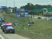 Accident on I55, Madison, MS
