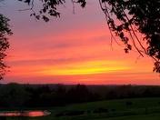 Sunset in Chariton.