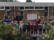 The Children's Center Pollinator Garden Ribbon Cutting