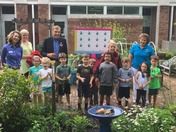 The Children's Center Pollinator Garden Ribbon Cutting