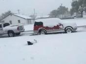 Panhandle snowfall