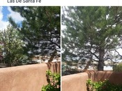 Santa Fe, NM a year ago and today