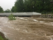 Siloam Springs under water