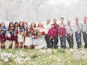 Snowy Pecos Wedding