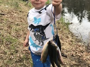 Trevor's first brook trout