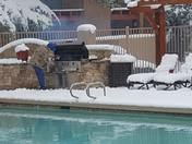 Gender Reveal Party by the Pool in Santa Fe