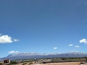 Sandia's after the snow
