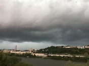 storm in the strip district